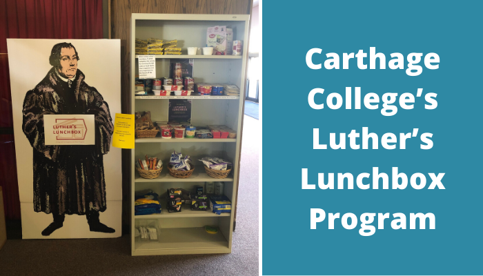 Carthage College Luther's Lunchbox Program