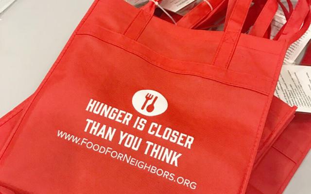 NCGH Donates to Food for Neighbors