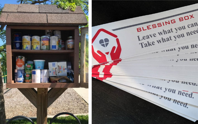 blessing boxes donation