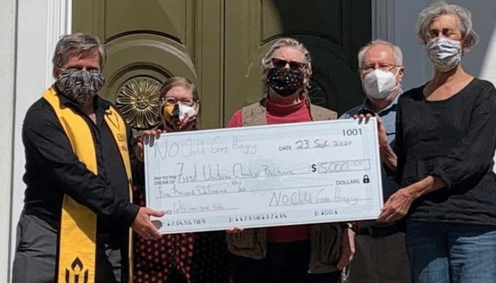 NCGH Donates to William Paca