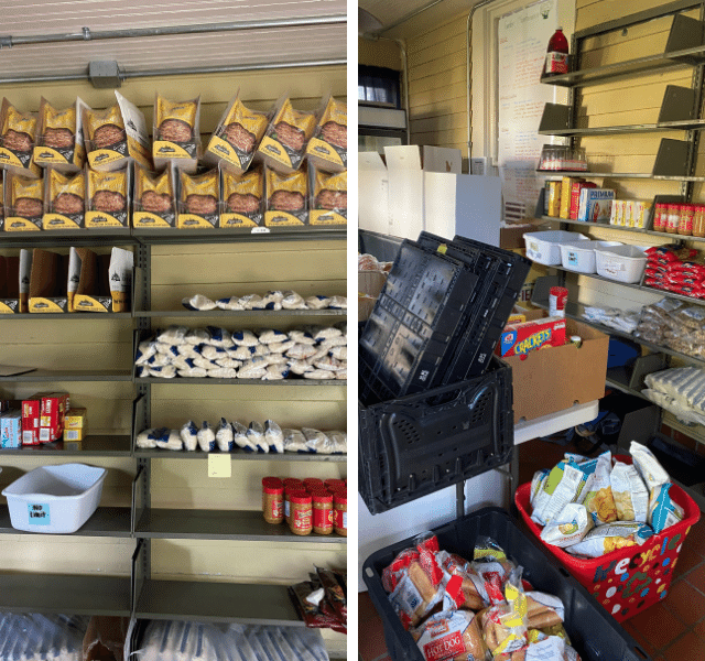 College Food Pantry Donations